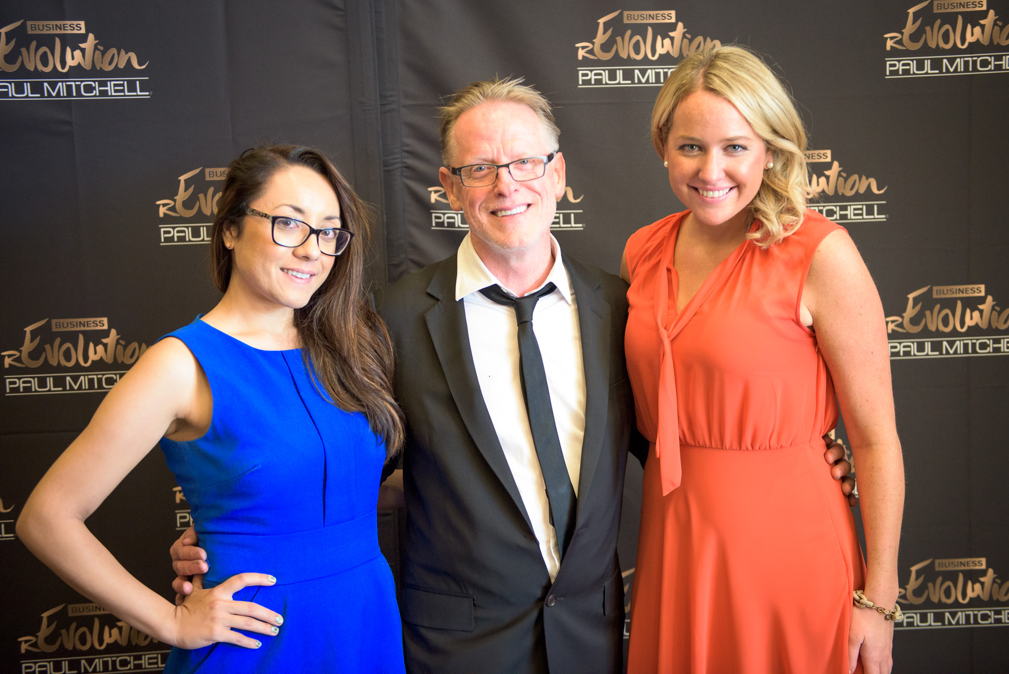 American Salon West Coast Editor Kamala Kirk, Guest Speaker Antony Whitaker and Digital Editor Kelsey Murray