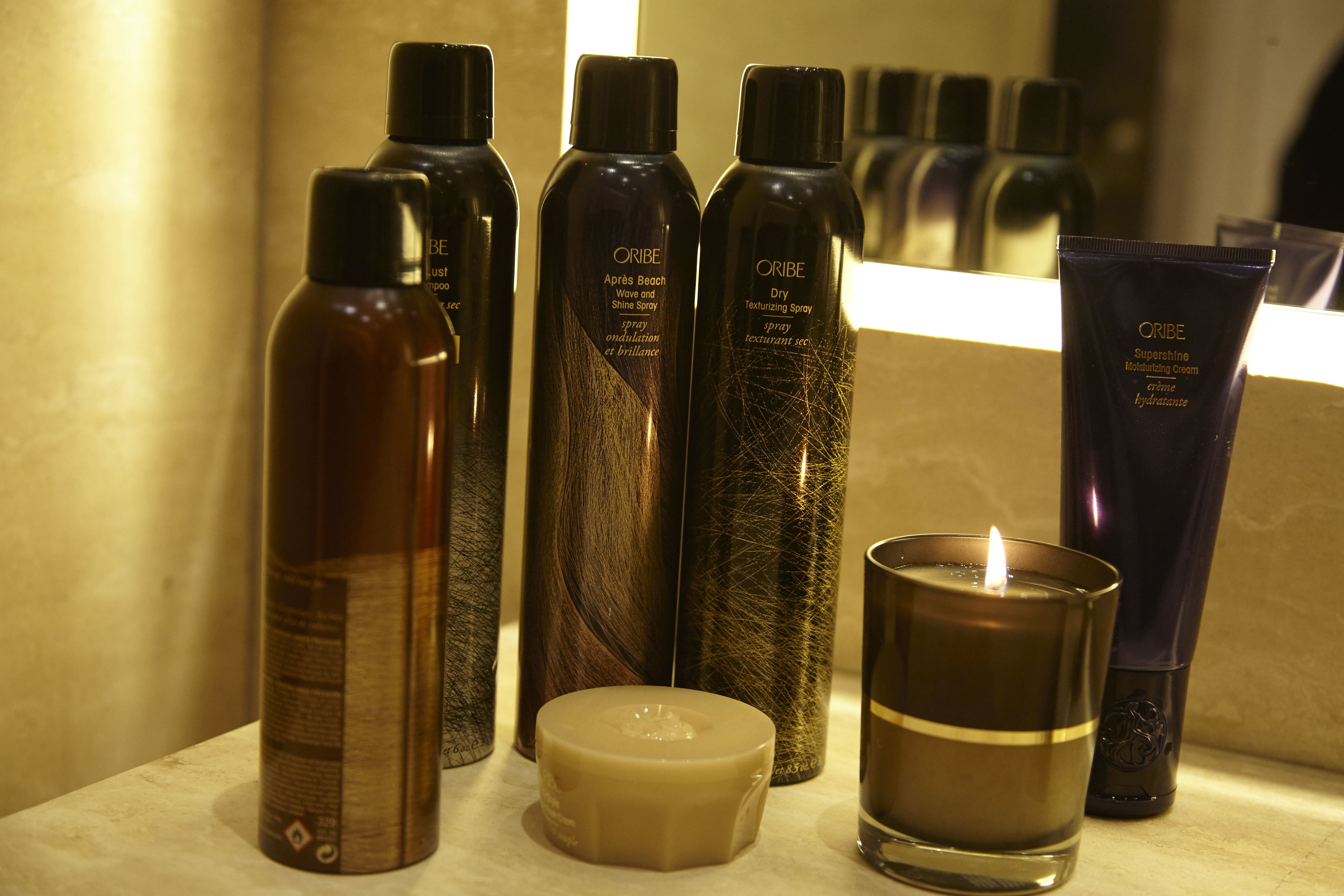 Oribe products.