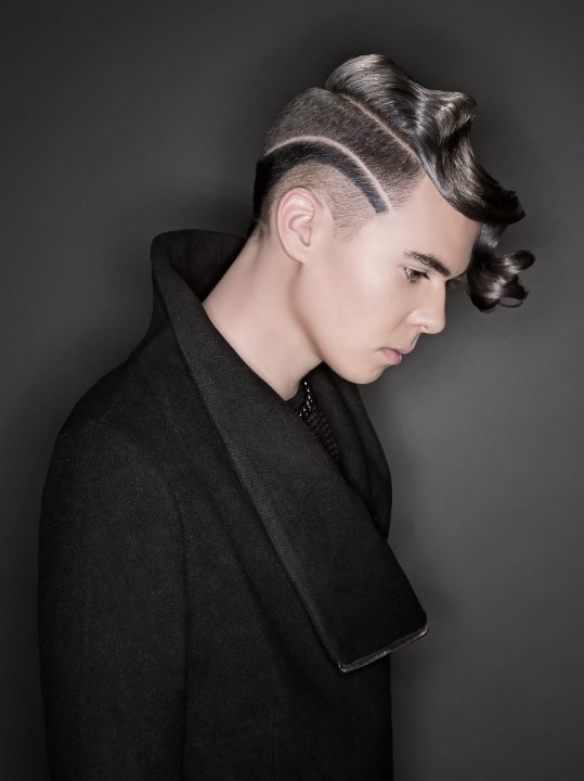 Student Hairstylist of the Year Dustin Villa Tucson, AZ