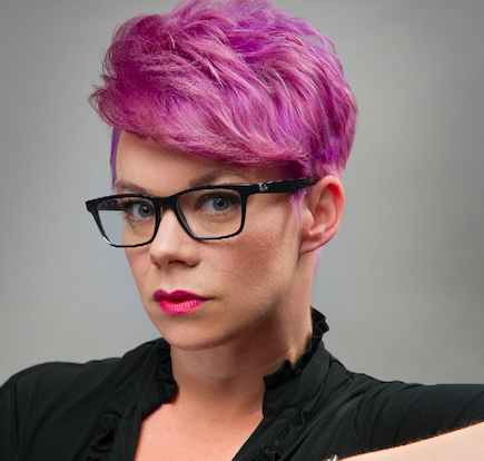 Lauren Moser, Texture, Hair Lab Detroit, Detroit, MI (NAHA 2015 finalist/Courtesy of PBA)