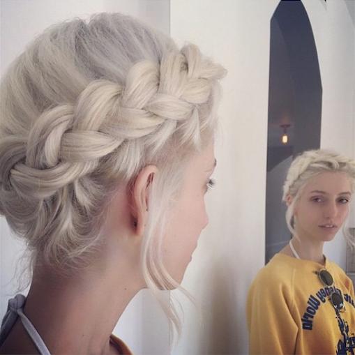 Braid by @901too stylist @amberleebeauty via @unite_hair