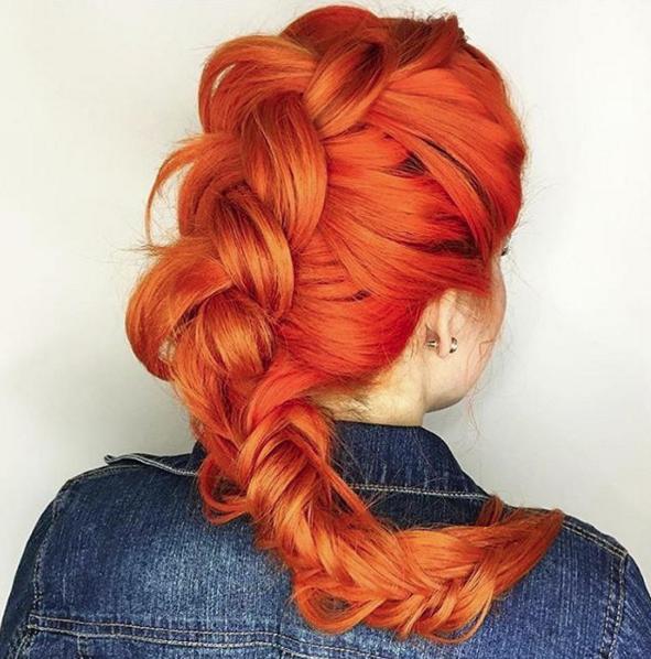 braid by @celfiechamberlain, color by @amylara_squaresalon
