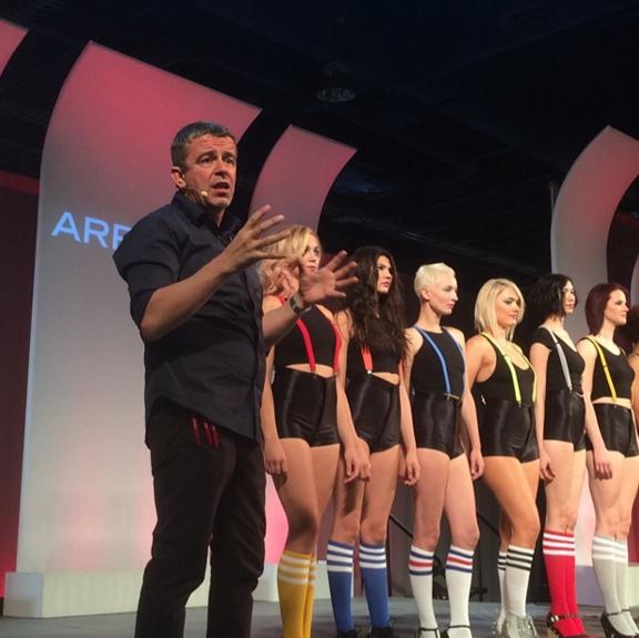 Nick Arrojo on Main Stage