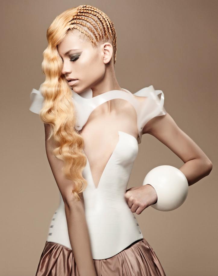 2012 finalist in the Avant Garde category Jasmine Gibbs