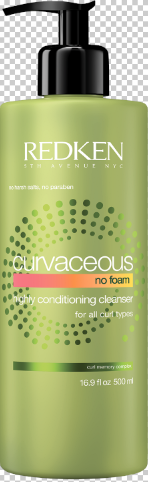 Redken  Curvaceous No Foam Highly Conditioning Cleanser can be used as a rinse-out or leave-in treatment to help nourish and define waves, curls and spirals