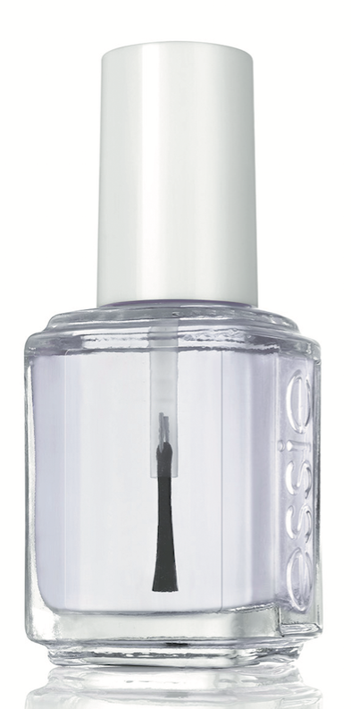 Essie Call It Even Top Coat is a thick, cushioning top coat that seals nail art and glitter and is the perfect finishing step for all manicures.
