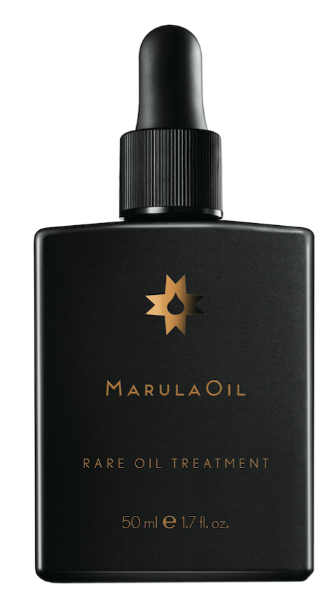 MarulaOil  Rare Oil Treatment is packed with replenishing oleic acids, giving curls hydration, softness and manageability. Marula and esterized oils pamper curls pre-shampoo, before blow-drying and during styling.