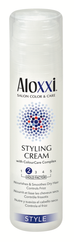 Aloxxi Styling Cream perfectly blends a water-soluble base with nourishing oils such, as shea butter and coconut oil, making it perfect for curl type 6.