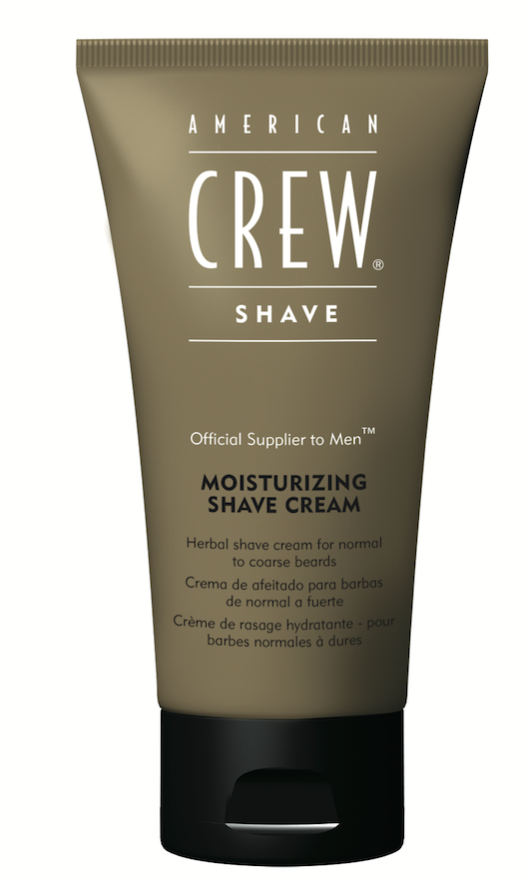 American Crew Moisturizing Shave Cream is packed with powerful antioxidants, soothing aloe and healing avocado oil, ensuring easy razor glide and hydration.