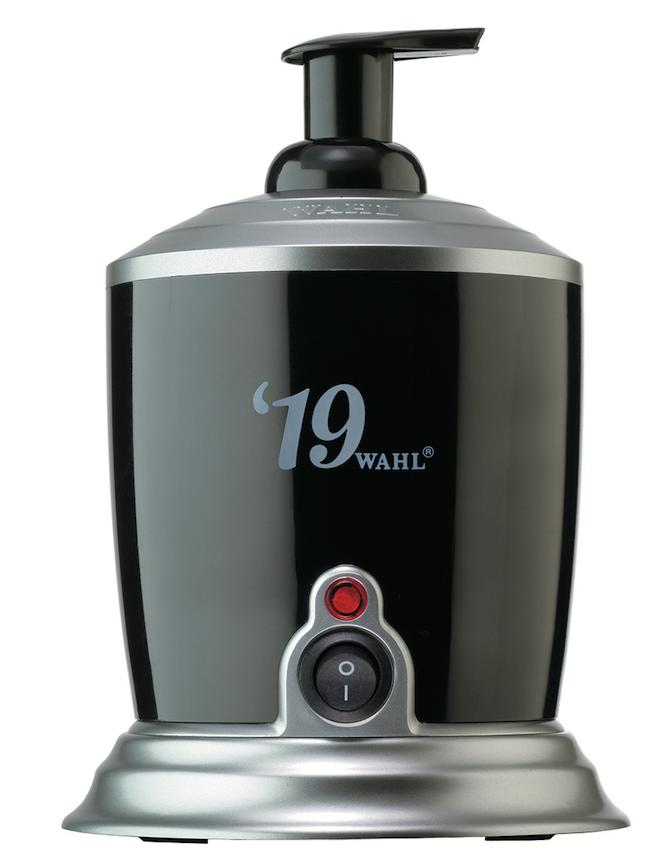 Wahl Hot Lather Machine heats up in less than 50 minutes and makes rich, warm shaving lather for a spa-like experience.