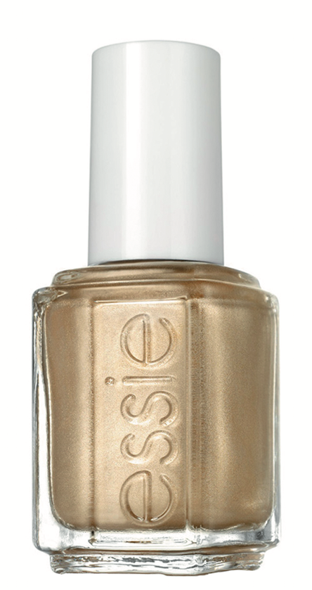 Essie Getting Groovy Inspired by 1960s London, this metallic gold from the Essie Winter 2016 Collection is super mod and chic.