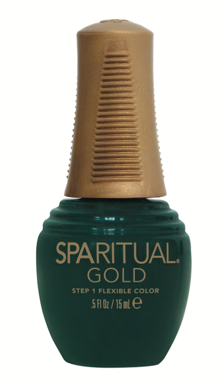SpaRitual Gold Take A Stand This rich green from the Rise Holiday 2016 Collection has smudge repairing technology.