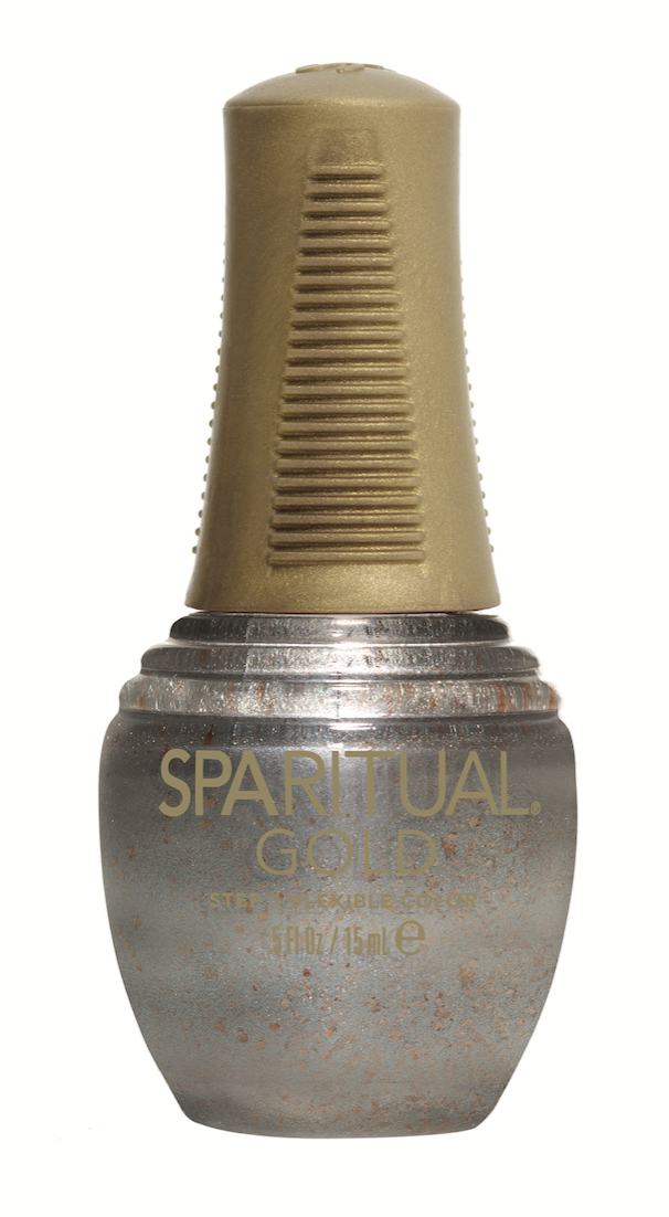 SpaRitual Valued creates the coveted chrome look and dries in eight minutes with a longer wear.