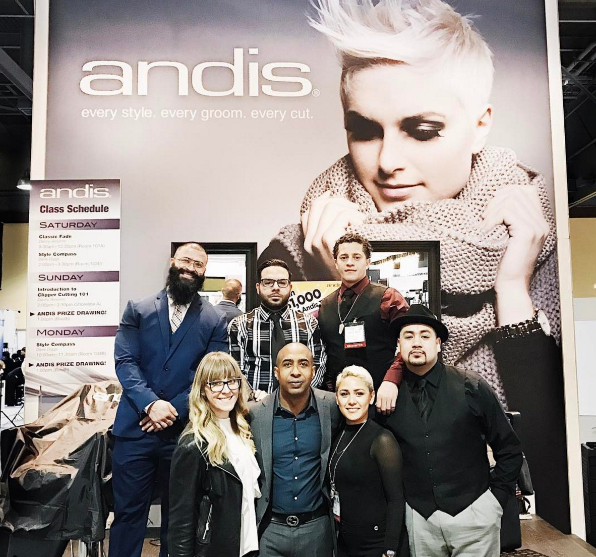 Andis team at ISSE via @jessicazeinstra