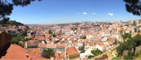 Lisbon, Portugal: Traveling internationally can awaken your creative spirit, as it always seems to do for me.