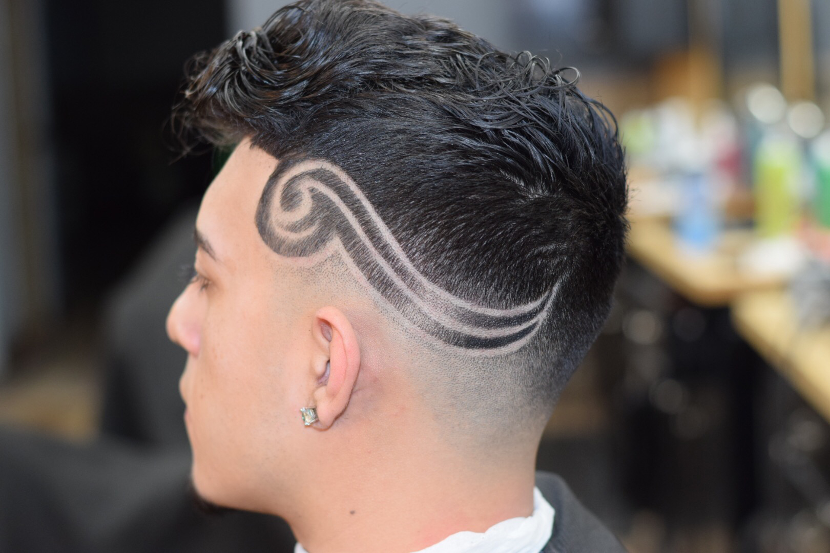 How To: Low-Medium Bald-Fade