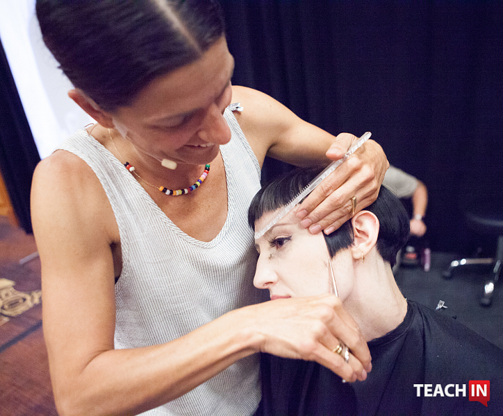 Teach In After NAHA - Traci Sakosits @randytaylorfoto