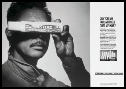 he national ad campaign that introduced Sculpting Foam in 1984