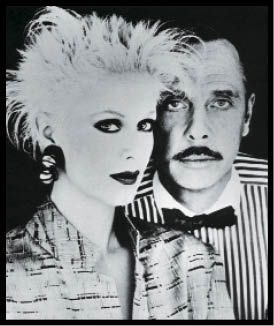 eanne Braa, artistic director for Paul Mitchell, with Paul in the late 1970s