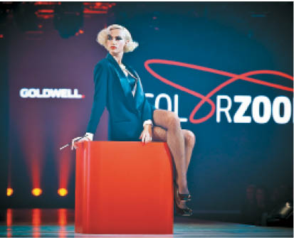 A tribute to Marlene Dietrich kicked off the Global Color Zoom event