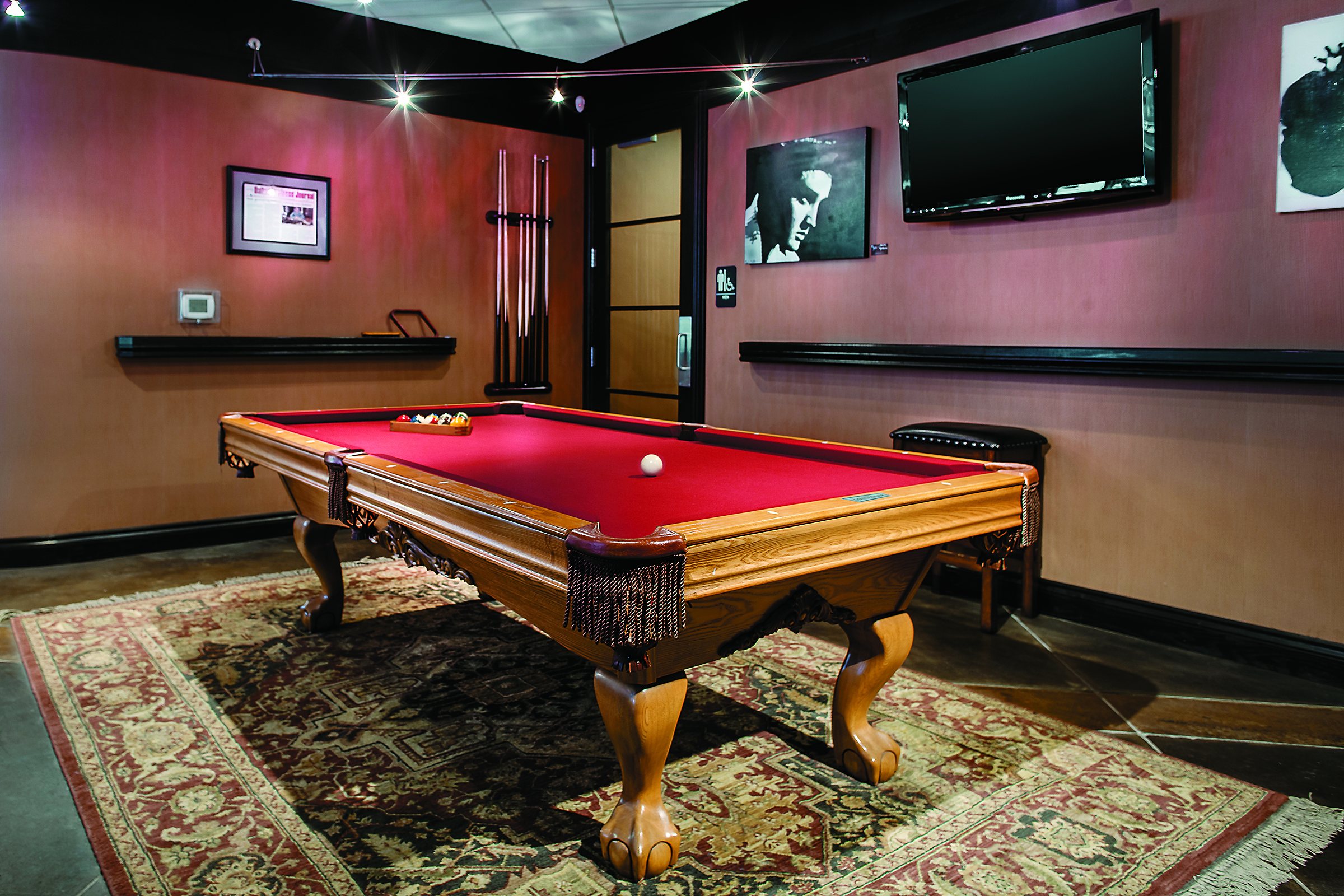 Billiards at the Leawood, KS location