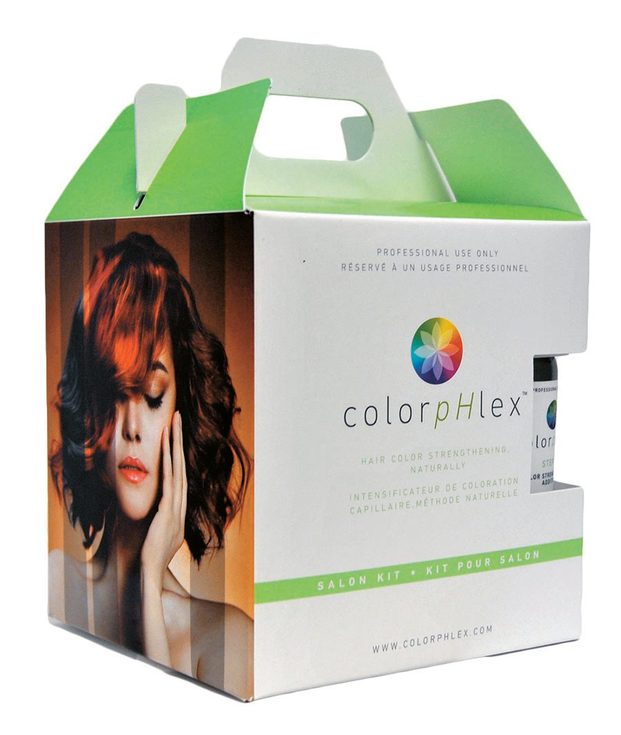 ColorpHlex packages its professional products in a convenient salon kit.