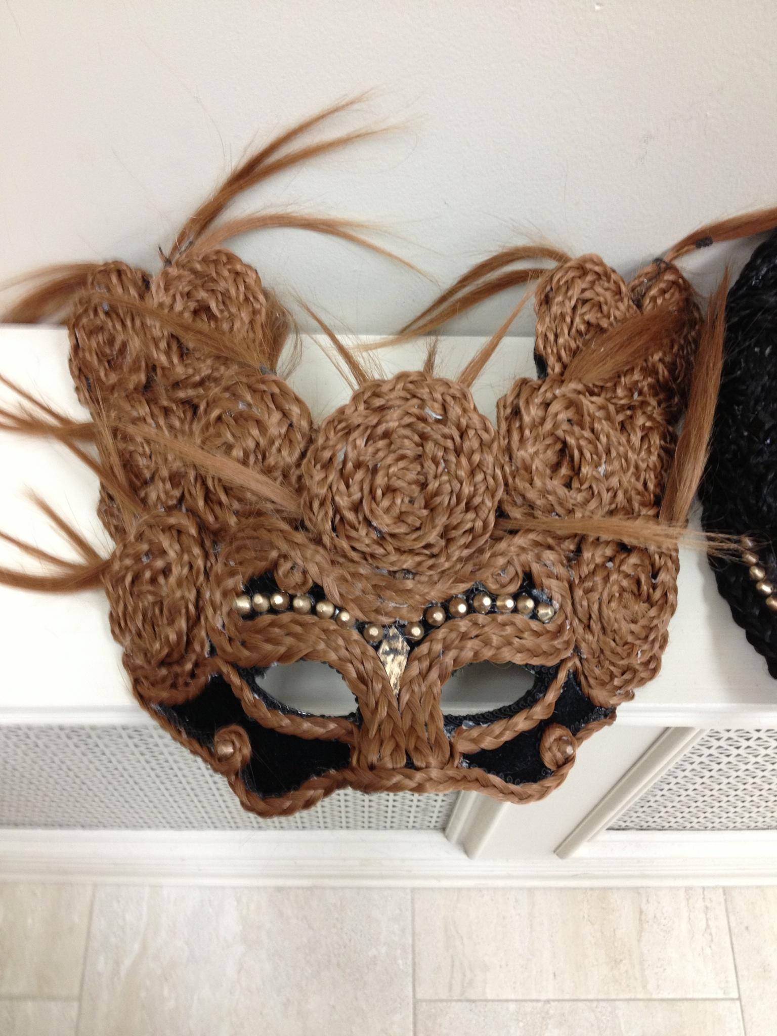 Brown Mask