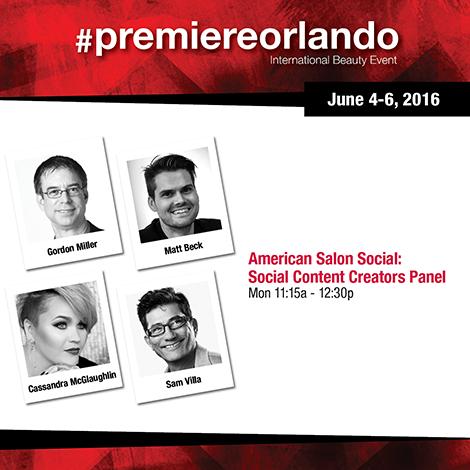 American Salon Social panel, day 2