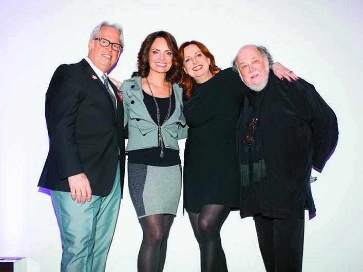 Belinda Gambuzza with Karen and Jerry Gordon