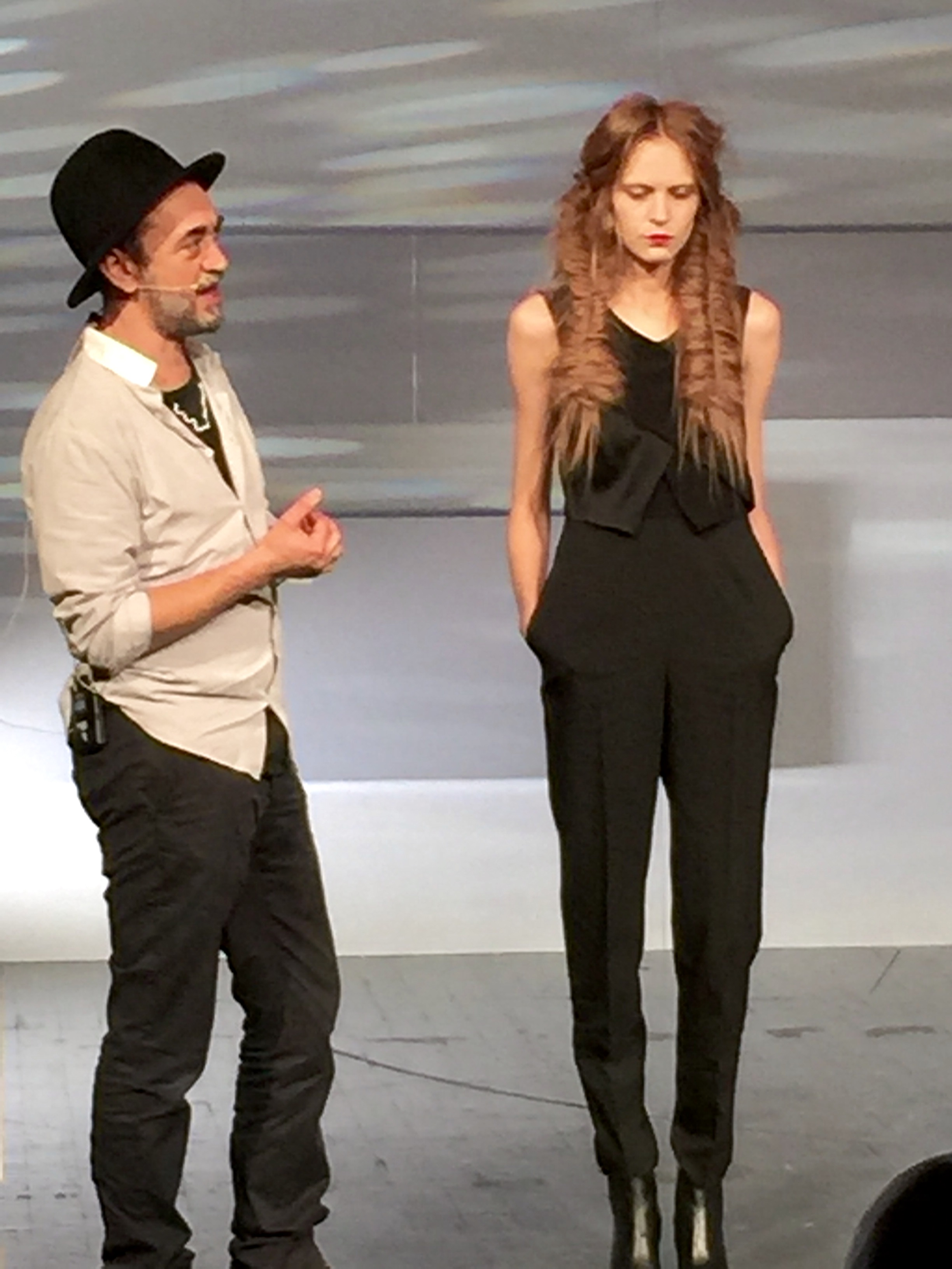 Wella's Eugene Souleiman talks about one of his favorite fashion creations.