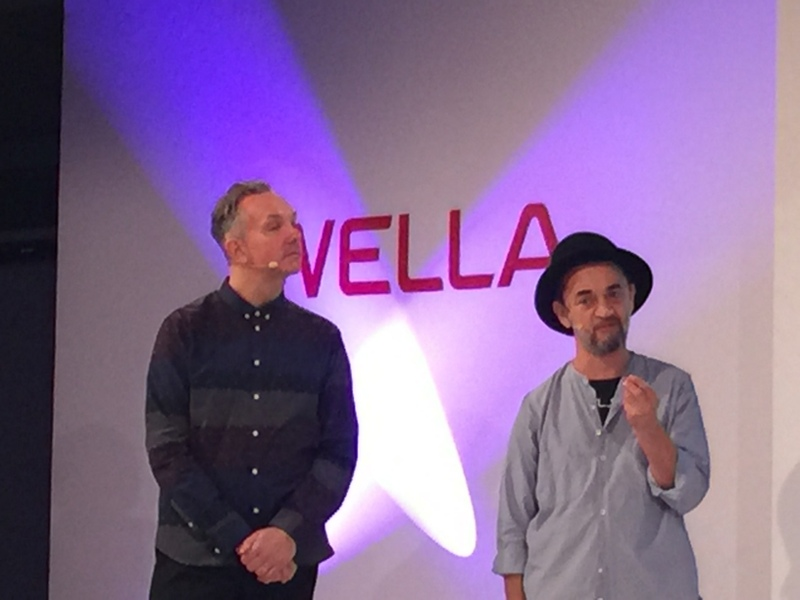 Wella's Josh Wood, left, and Eugene Souleiman talk about hair trends emanating from the Spring and Fall 2014 catwalks.