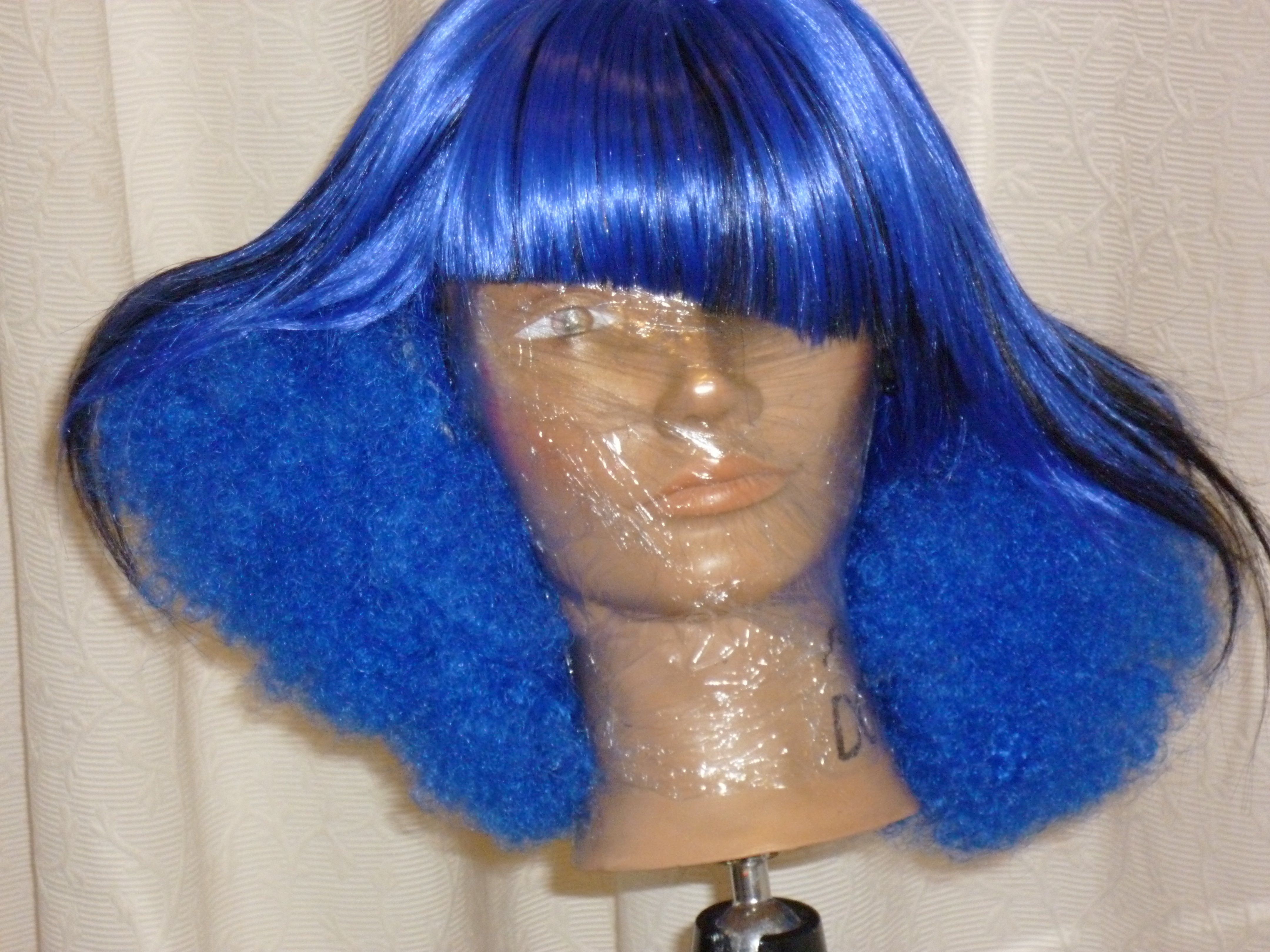 A Completed Wig- Front