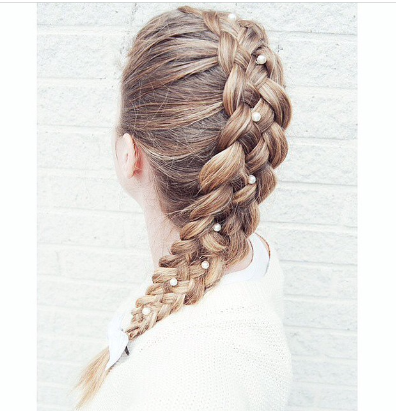 5 strand dutch braid by @twistmyhair