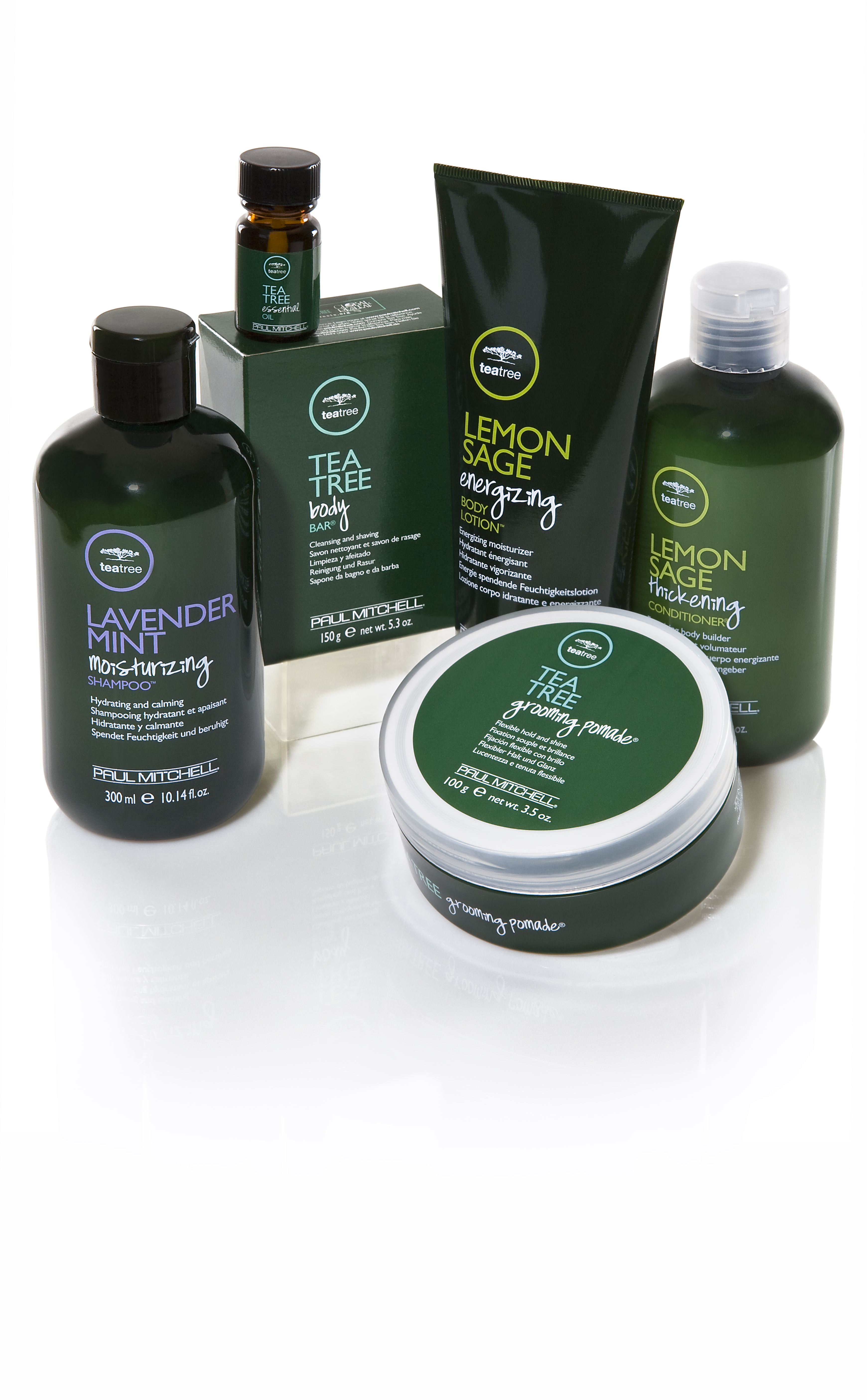 Paul Mitchell's Tea Tree line