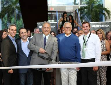 President Mario Argenti and Boca Concil Member Scott Singer