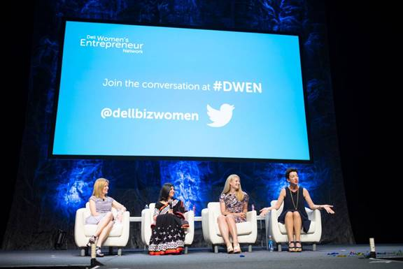 Jane Wurwand participates on a panel regarding women in business at the recent DWEN conference in Austin, TX.