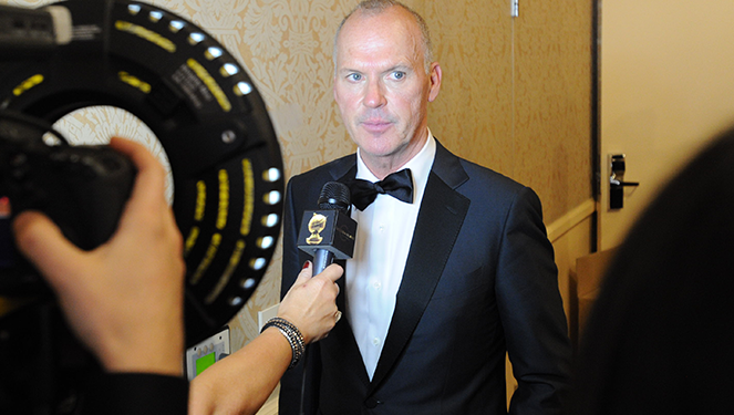 Michael Keaton - Courtesy of GoldenGlobes.com