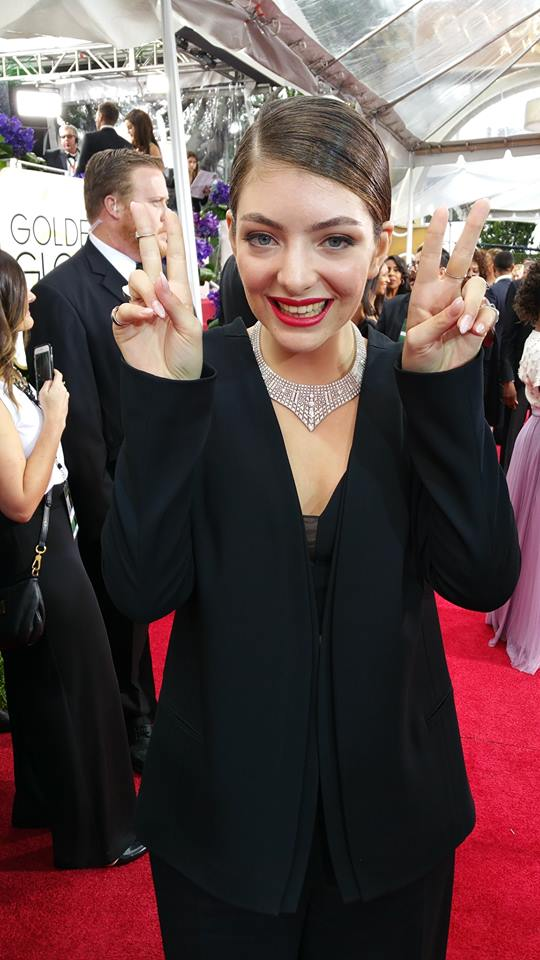 Lorde - Courtesy of GoldenGlobes.com