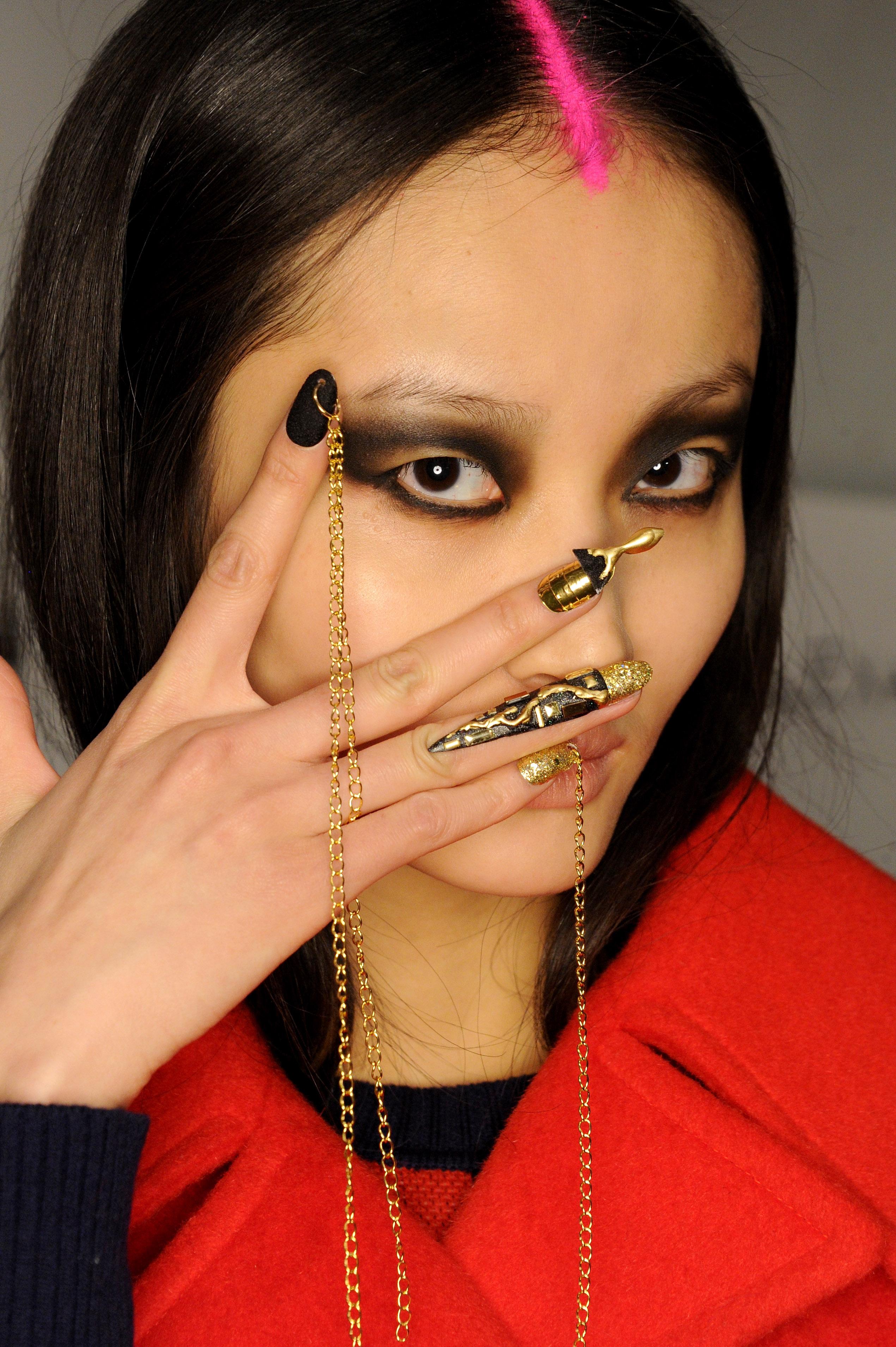 CND Creates Artistic Nail Art for Libertine NYFW Show | American Salon