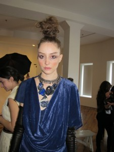 A finished look at Catherine Malandrino