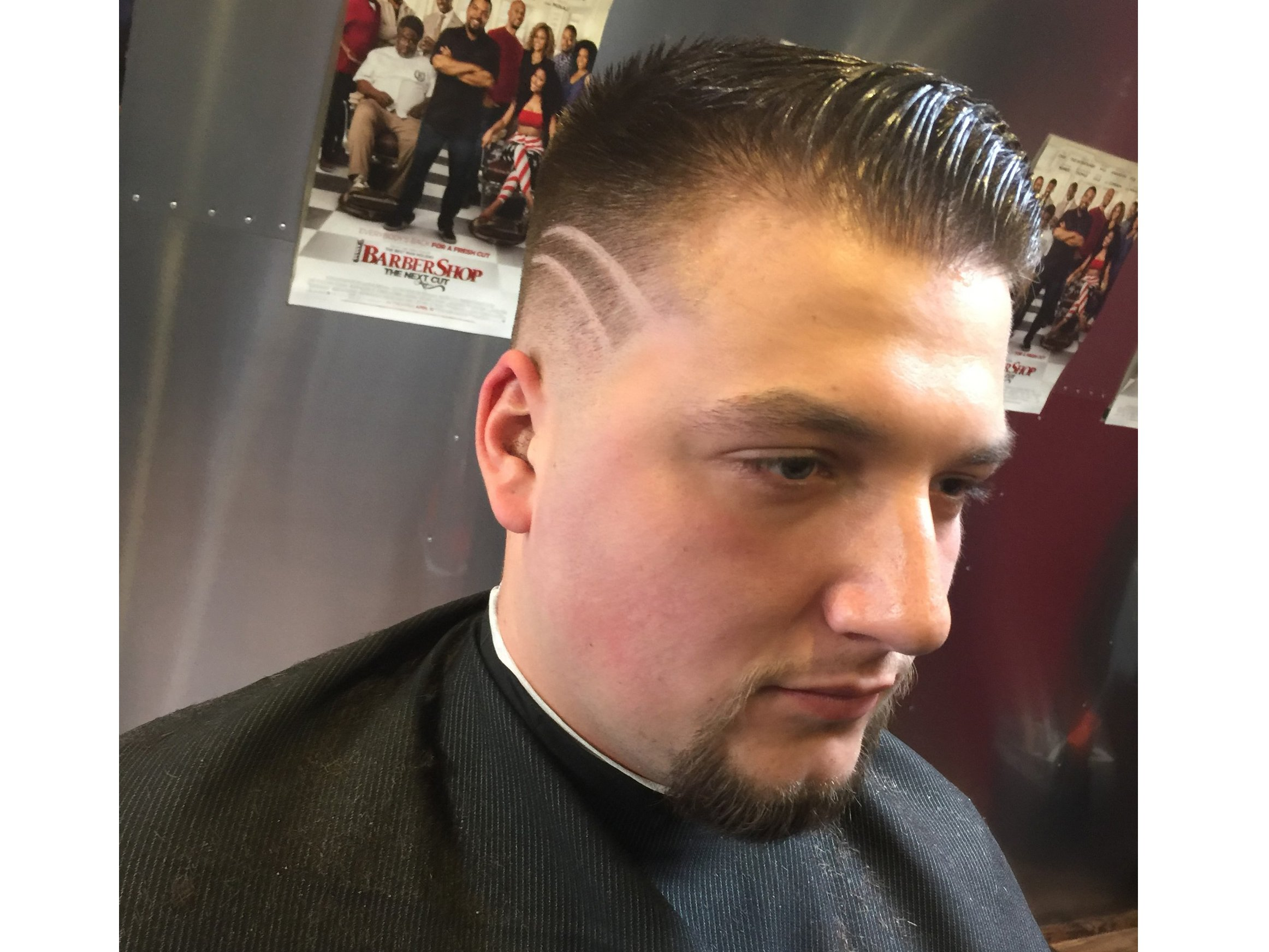 How To Mens Comb Over Cut American Salon