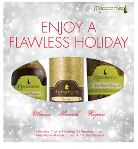 Macadamia Natural Oil - Holiday Flawless Box