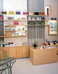 Warren-Tricomi combines retail hair products with fashion accessories and cosmetics.
