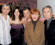 Stephen Moody, Rachel Aceves, Winn Claybaugh, Vivienne Mackinder at the San Francisco premiere of One Life Project.