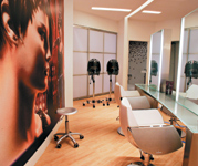 The test salon