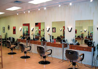 The Scarduzios have seen an average of 25 new customers a week since they opened Cuz'n Company Salon & Spa last year.