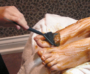 This special Pumpkin Peel treatment is rich in antioxidants.