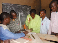 Carpentry and metalworking are two of the many skills ALARM is seeking to teach in Africa.