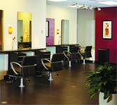 Even with 20 styling stations, One Salon & Spa manages to feel clean, friendly and comfortable.