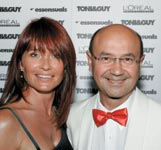 Beverly C with Essensual's Tony Mascolo